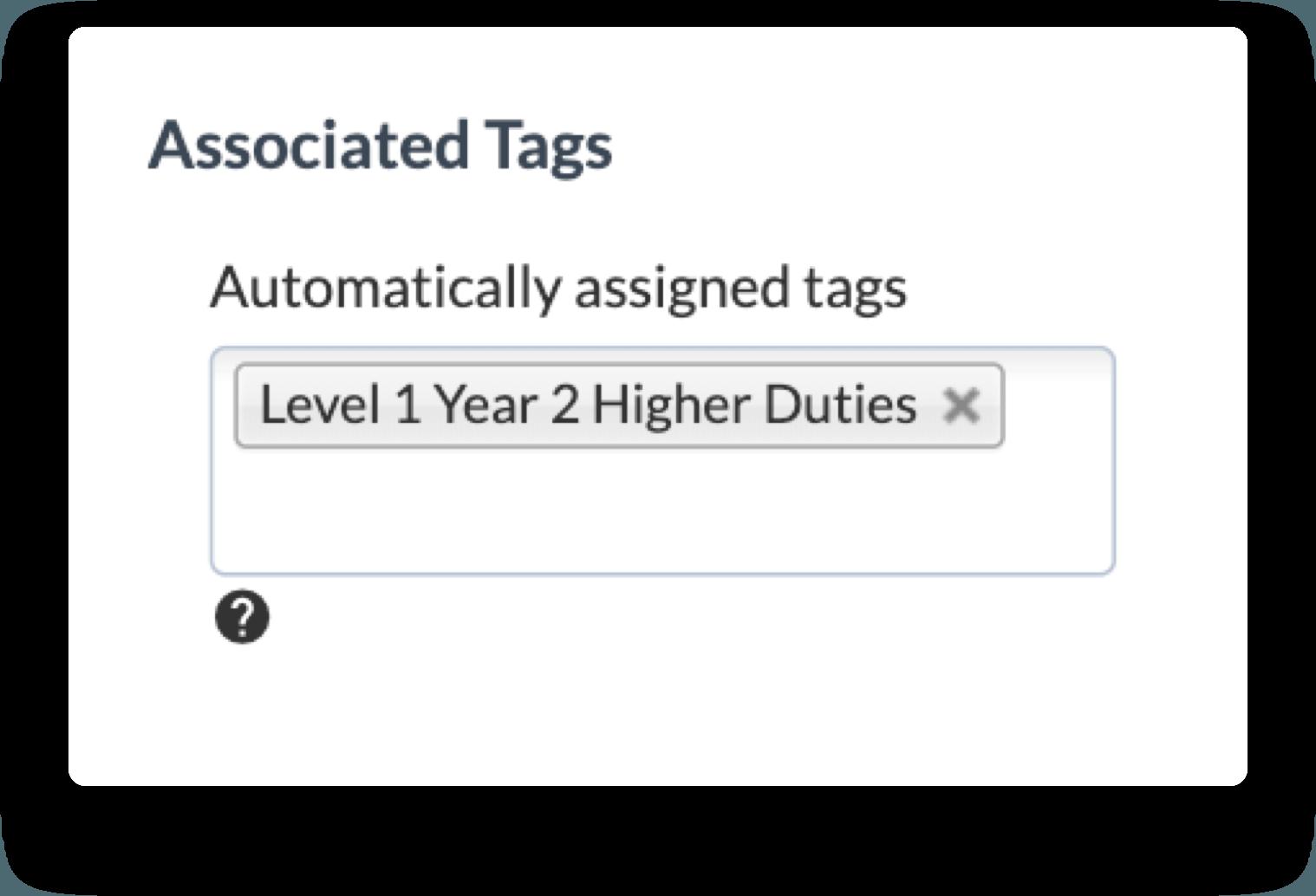 automatic higher duties tanda