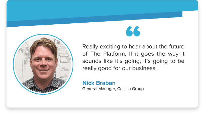 Nick Braban, General Manager of Celissa, on Tanda's new Platform