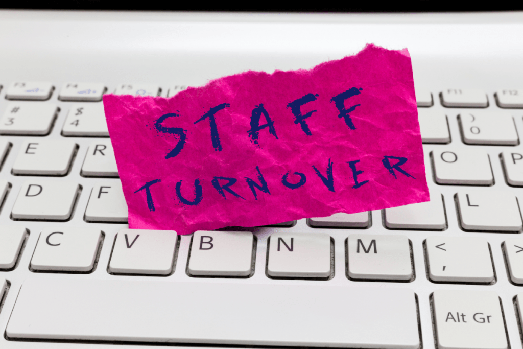 staff turnover